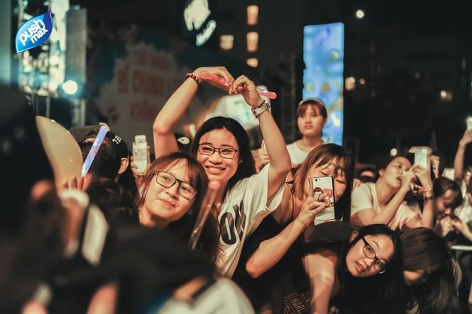 15.000 Teen Hà Thành 'quẩy tung' tại đêm nhạc Pushmax  - ảnh 13