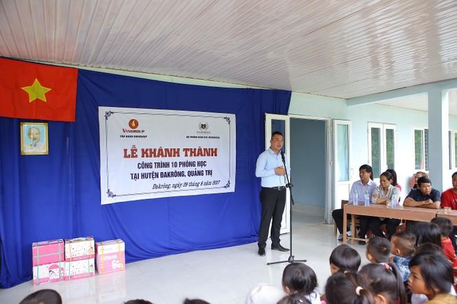 Khánh thành 10 phòng học cho trẻ em nghèo Quảng Trị từ giải chạy Edurun 2016  - ảnh 3