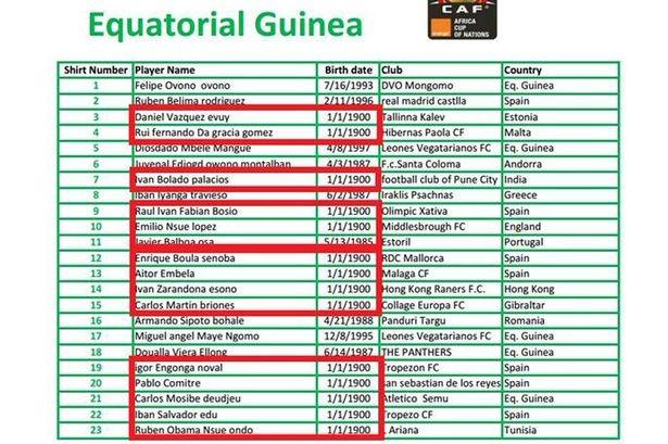 Guinea dùng cầu thủ hơn... 100 tuổi đá giải Vô địch châu Phi - ảnh 1