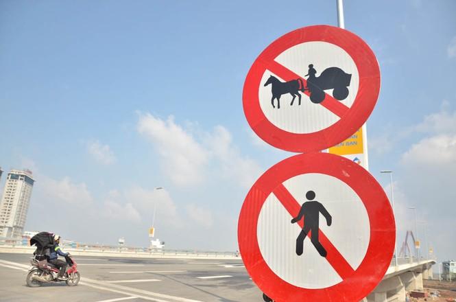 Kiên quyết xử lý trường hợp dừng đỗ xe trên cầu Nhật Tân - ảnh 3