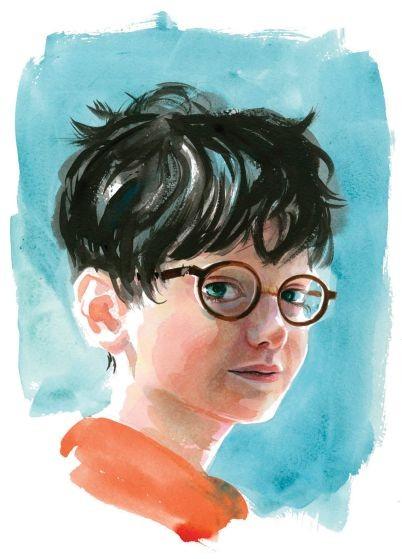 Harry Potter tái bản với tạo hình hoàn toàn mới - ảnh 1
