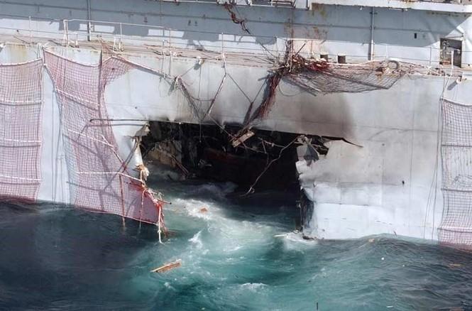 Tàu chiến Anh 'hết đát' trưng dụng làm bia tập bắn - ảnh 4