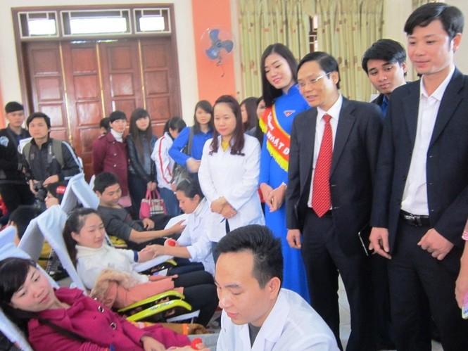 Tưng bừng ngày hội Chủ Nhật Đỏ tại Thanh Hóa - ảnh 7