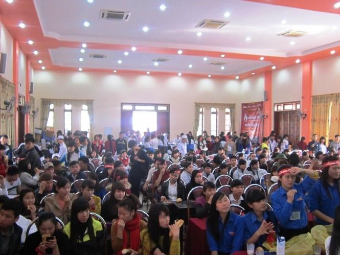 Tưng bừng ngày hội Chủ Nhật Đỏ tại Thanh Hóa - ảnh 1