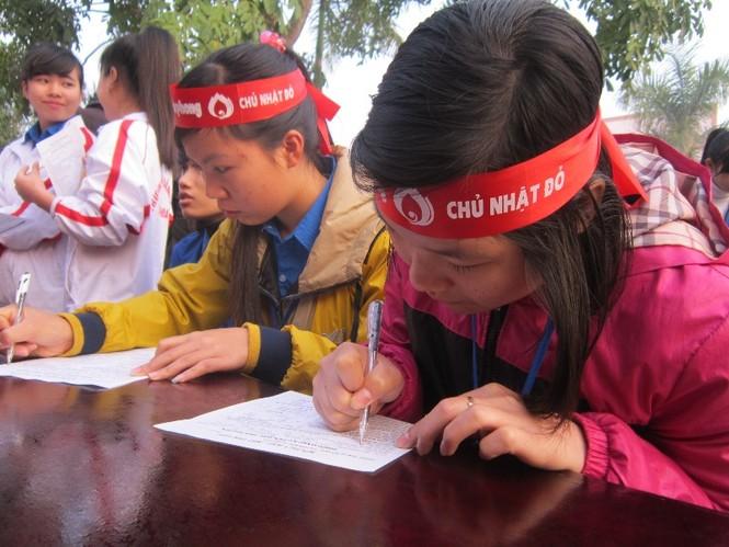 Tưng bừng ngày hội Chủ Nhật Đỏ tại Thanh Hóa - ảnh 3