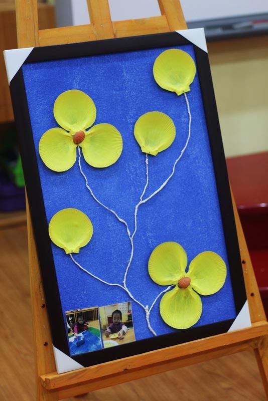 300 trẻ mầm non làm đồ tái chế ủng hộ học trò vùng cao - ảnh 8