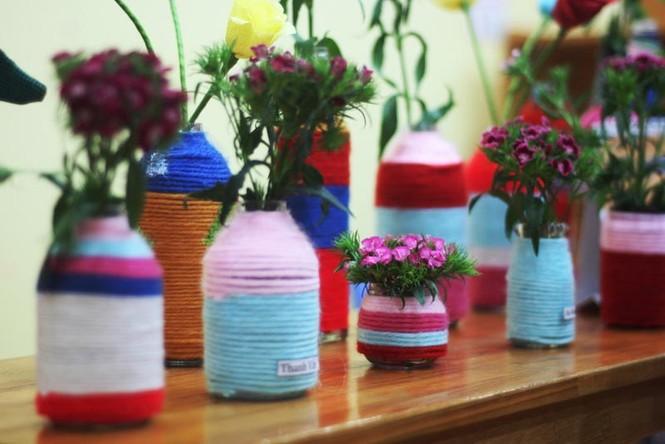 300 trẻ mầm non làm đồ tái chế ủng hộ học trò vùng cao - ảnh 6