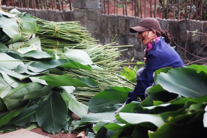 'Đột nhập' làng lá dong lớn nhất Hà thành vào giáp Tết - ảnh 17