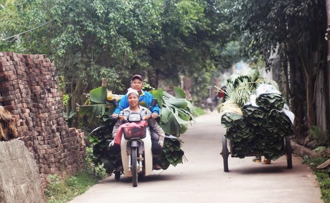 'Đột nhập' làng lá dong lớn nhất Hà thành vào giáp Tết - ảnh 10