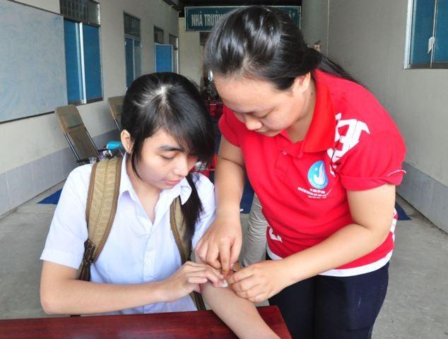 Thi xong tranh thủ hiến máu ngay - ảnh 3