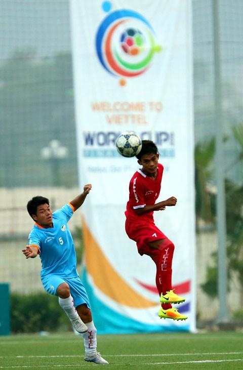 """Sự thú vị của đội """"vé vớt"""" tại Viettel World Cup 2016  - ảnh 2"""