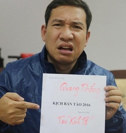 Quang Thắng tiết lộ lí do các nghệ sĩ thường tập Táo quân xuyên đêm - ảnh 1