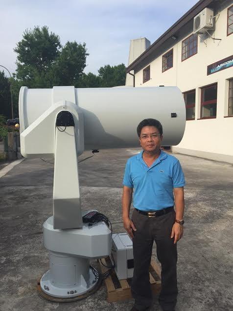 Ngắm đài thiên văn đầu tiên của Việt Nam ở Khánh Hòa - ảnh 1