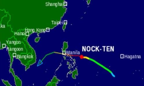 Bão cấp 15 hướng vào biển Đông - ảnh 2