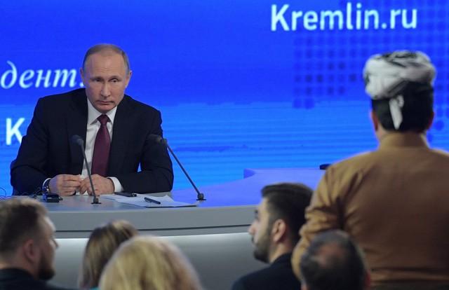 5 khoảnh khắc hài hước nhất trong cuộc họp báo quốc tế của ông Putin - ảnh 2