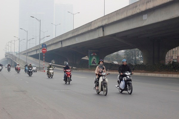 Đường phố Hà Nội vắng vẻ ngày đầu năm mới 2017 - ảnh 2