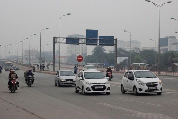 Đường phố Hà Nội vắng vẻ ngày đầu năm mới 2017 - ảnh 5