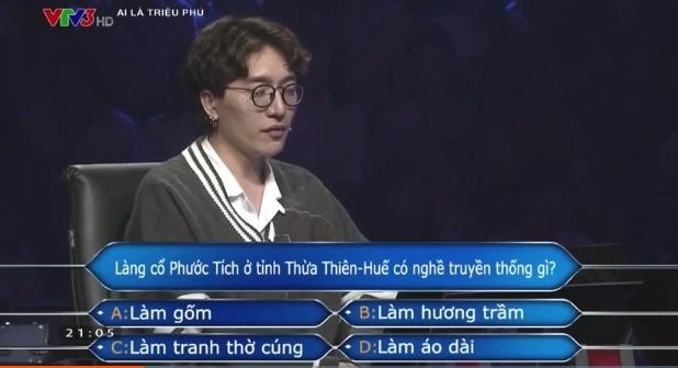 Châu Đăng Khoa bị khán giả 'chơi xỏ' khi tham gia Ai là triệu phú - ảnh 2
