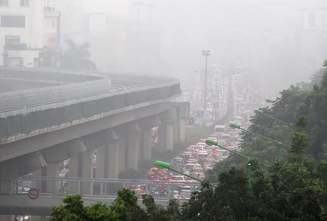 hà nội sương mù - ảnh 1