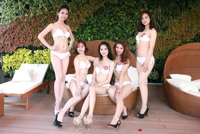 """Ngắm dàn thí sinh """"Người đẹp Kinh Bắc"""" trong trang phục bikini - ảnh 14"""