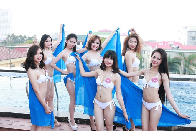 """Ngắm dàn thí sinh """"Người đẹp Kinh Bắc"""" trong trang phục bikini - ảnh 15"""