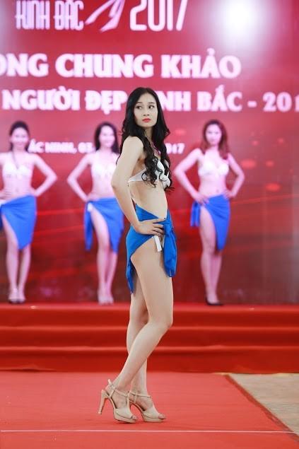 """Ngắm dàn thí sinh """"Người đẹp Kinh Bắc"""" trong trang phục bikini - ảnh 2"""
