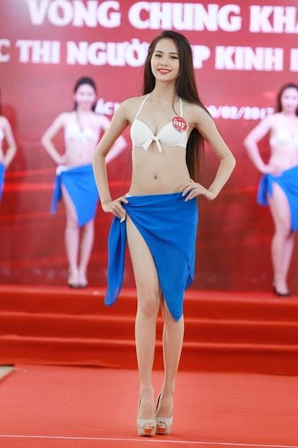 """Ngắm dàn thí sinh """"Người đẹp Kinh Bắc"""" trong trang phục bikini - ảnh 3"""