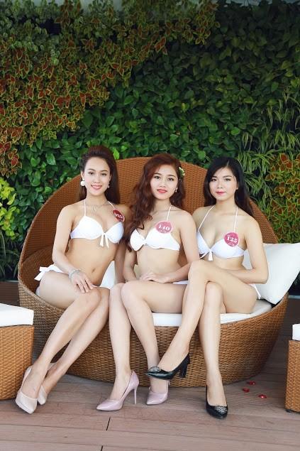 """Ngắm dàn thí sinh """"Người đẹp Kinh Bắc"""" trong trang phục bikini - ảnh 5"""