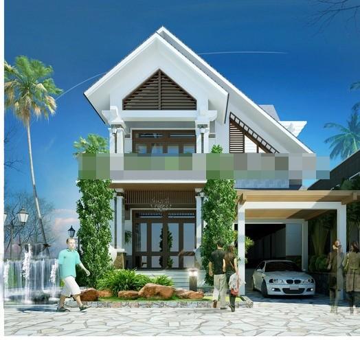 Những mẫu nhà 2 tầng đẹp cho gia đình 3 thế hệ - ảnh 5