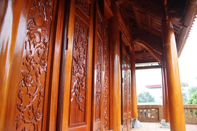 Những ngôi nhà gỗ mít 'khủng' nhất Việt Nam - ảnh 14
