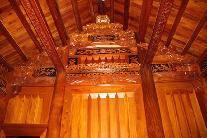 Những ngôi nhà gỗ mít 'khủng' nhất Việt Nam - ảnh 15