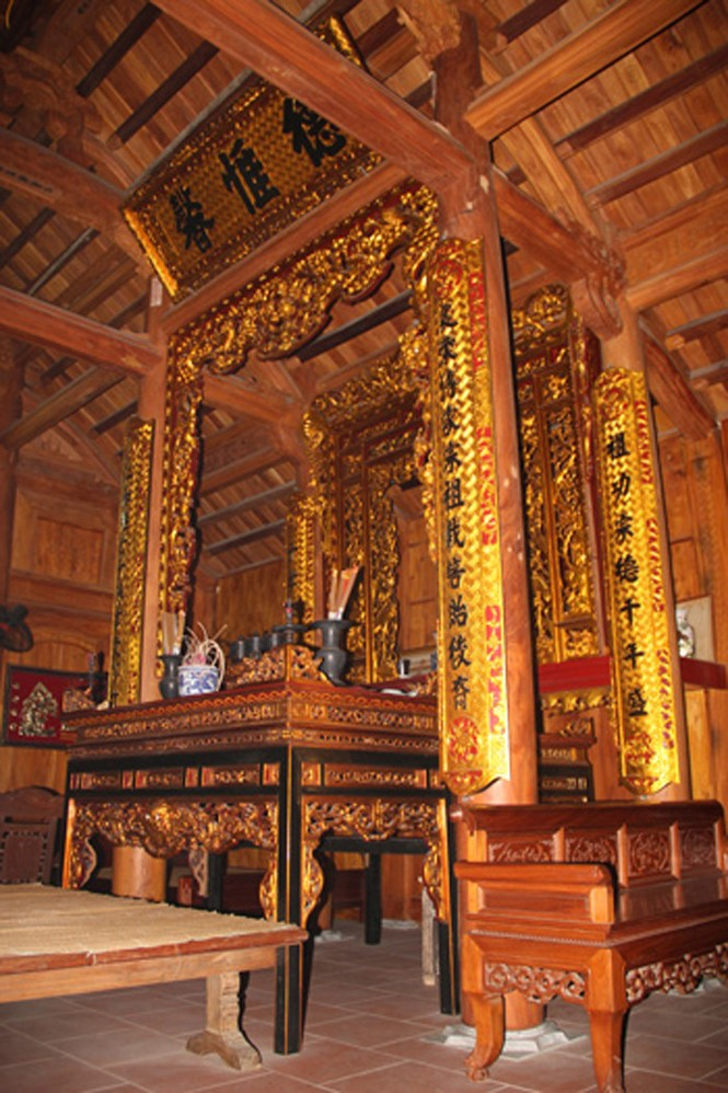 Những ngôi nhà gỗ mít 'khủng' nhất Việt Nam - ảnh 17