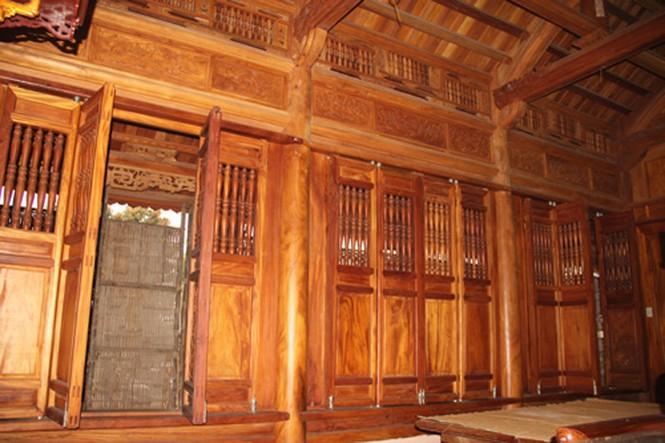 Những ngôi nhà gỗ mít 'khủng' nhất Việt Nam - ảnh 19