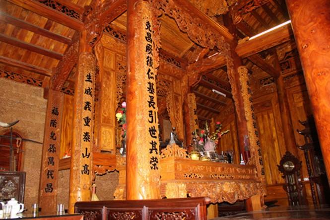 Những ngôi nhà gỗ mít 'khủng' nhất Việt Nam - ảnh 8