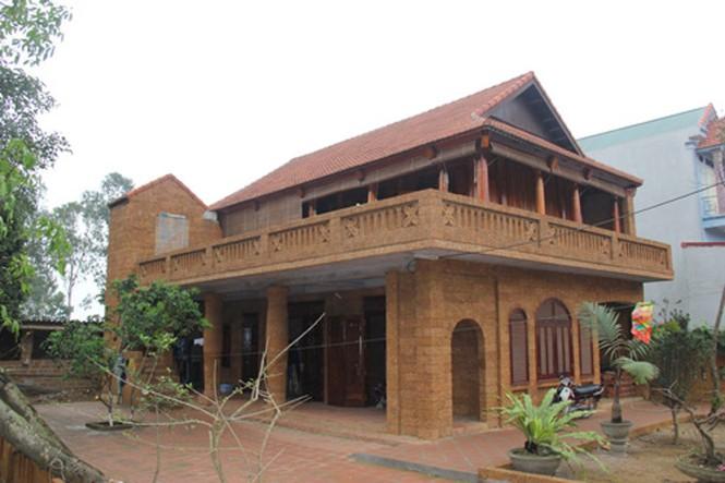 Những ngôi nhà gỗ mít 'khủng' nhất Việt Nam - ảnh 12