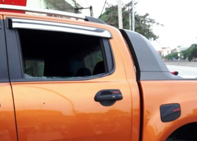 Nhóm thanh niên đi ô tô nghi truy sát đối phương - ảnh 2