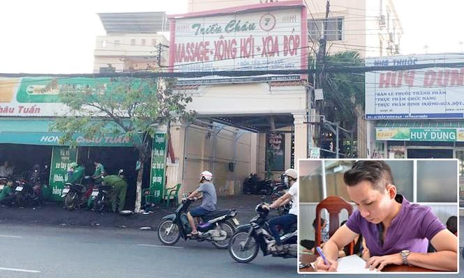 Triệt phá động mại dâm núp bóng massage ở Phan Thiết - ảnh 1