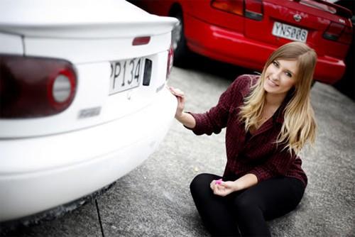 Bóng hồng xinh đẹp mê xe ở New Zealand - ảnh 9