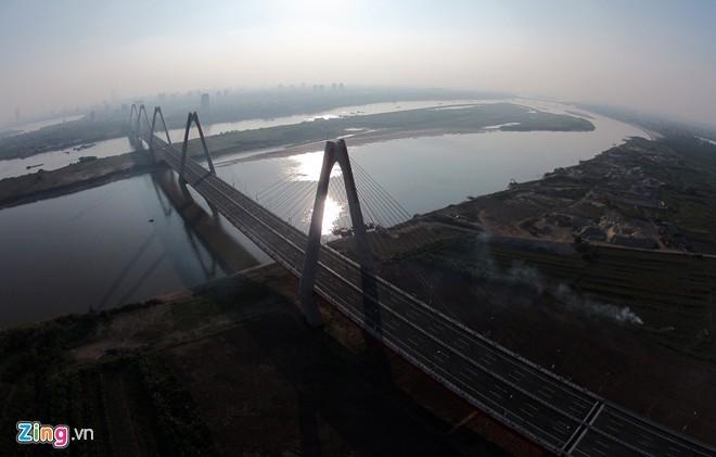 [ẢNH] Cầu Nhật Tân, đường Võ Nguyên Giáp trước ngày thông xe - ảnh 10