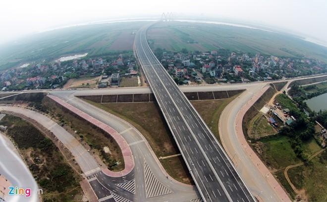 [ẢNH] Cầu Nhật Tân, đường Võ Nguyên Giáp trước ngày thông xe - ảnh 12