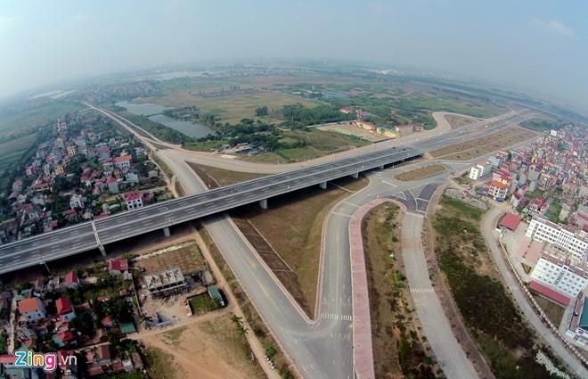 [ẢNH] Cầu Nhật Tân, đường Võ Nguyên Giáp trước ngày thông xe - ảnh 13