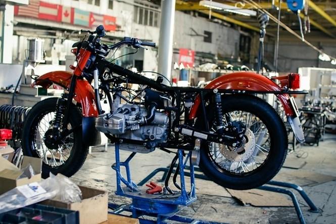 Thăm thú nhà máy lắp ráp side-car huyền thoại Nga - ảnh 13