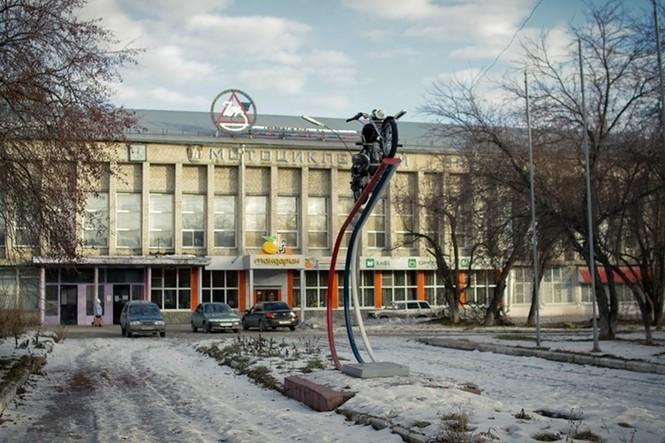 Thăm thú nhà máy lắp ráp side-car huyền thoại Nga - ảnh 1
