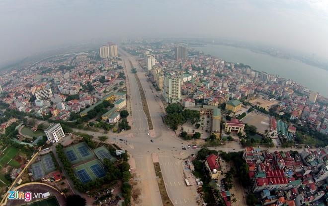 [ẢNH] Cầu Nhật Tân, đường Võ Nguyên Giáp trước ngày thông xe - ảnh 1