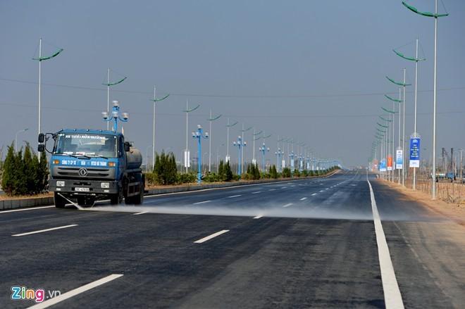 [ẢNH] Cầu Nhật Tân, đường Võ Nguyên Giáp trước ngày thông xe - ảnh 20