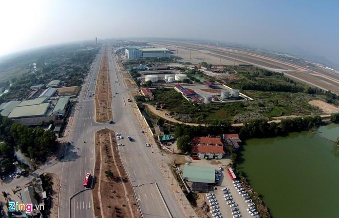 [ẢNH] Cầu Nhật Tân, đường Võ Nguyên Giáp trước ngày thông xe - ảnh 23