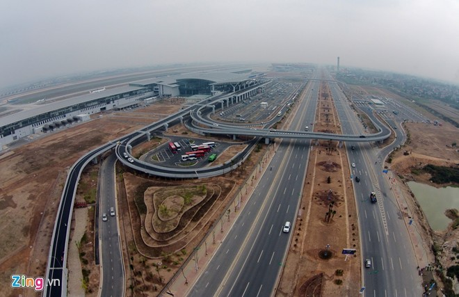[ẢNH] Cầu Nhật Tân, đường Võ Nguyên Giáp trước ngày thông xe - ảnh 24