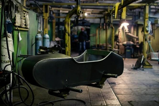 Thăm thú nhà máy lắp ráp side-car huyền thoại Nga - ảnh 3