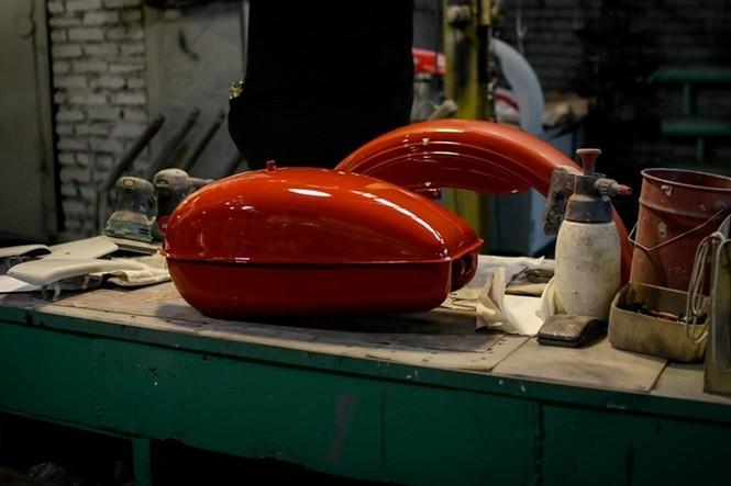 Thăm thú nhà máy lắp ráp side-car huyền thoại Nga - ảnh 8