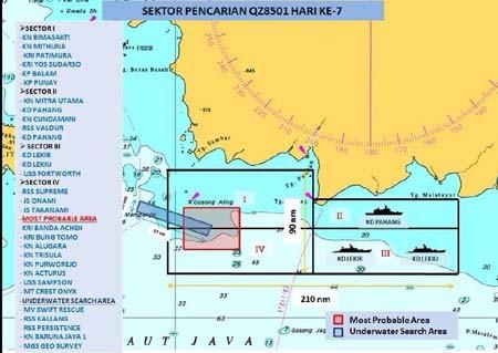Thủy phi cơ Nga đến Indonesia tìm hộp đen QZ8501 - ảnh 1